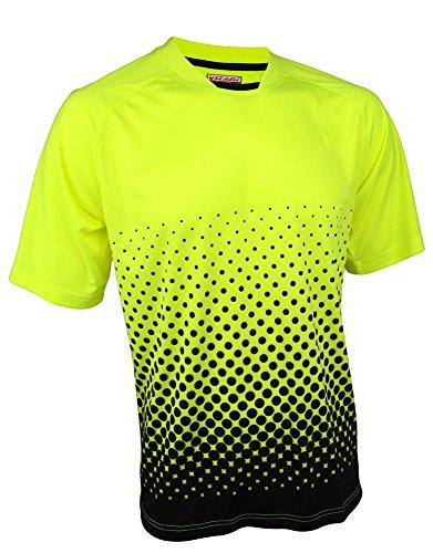 (Vizari Ventura Ss Gk Jersey Size Neon Yellow/Black,)