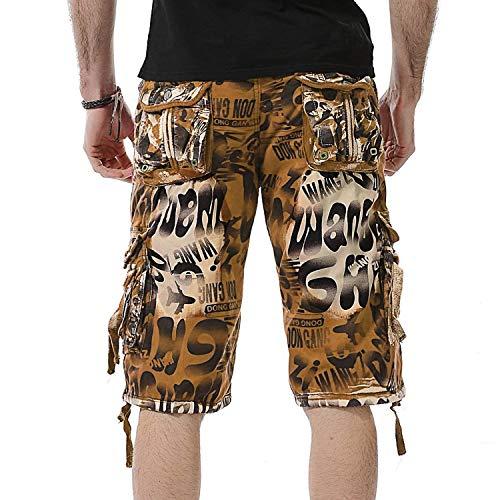 Unis Jaune Vêtements Couleurs Cargo Fashion Loisir Combat Hommes Fête Camouflage Pantalon Décontracté Travail Lannister De Garçon Pour xZfB1qwq