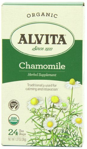 Alvita Tea herbal Chamomile Organic, 24 ct