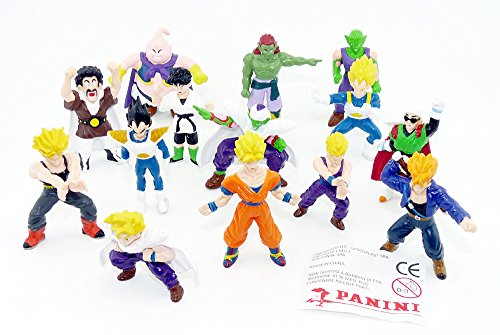 14 Action Figuren von Dragonball (Firma Panini)