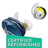 Bose SoundSport Free Truly Wireless Sport Headphones - Midnight Blue/Citron (Certified Refurbished)