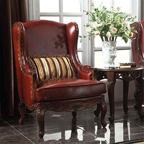 guohailang Fauteuil Fauteuil Lounge for Salon Chambre Bureau pour Salon Chambre (Color : Red, Size : Medium)