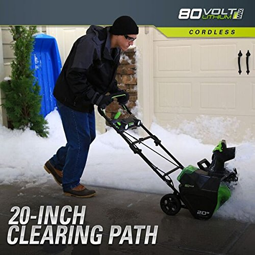 Buy cordless electric snow blower