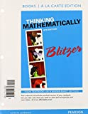 Thinking Mathematically with Integrated Review, Blitzer, Robert F., 0321986474
