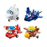 """SUPER WINGS Transform-a-Bots 4 Pack 