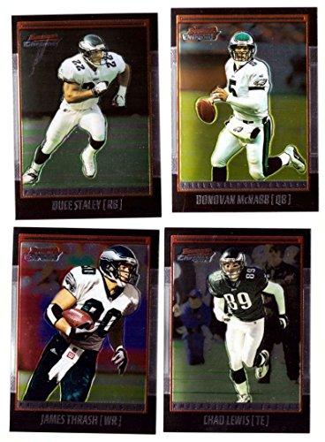 2001 Bowman Chrome Football (Base 1-110) - PHILADELPHIA EAGLES ()