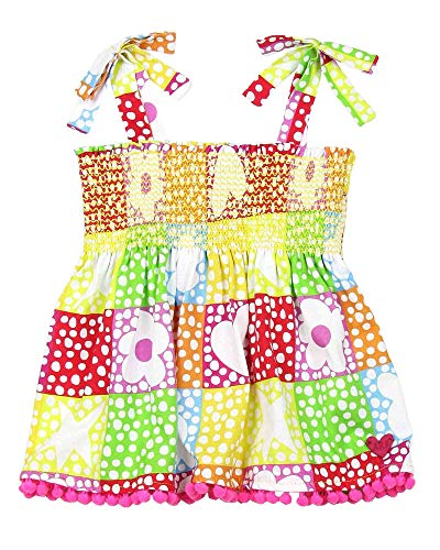 Agatha Ruiz De La Prada Girl's Symbols Top with Straps, Sizes 4-12 (12) ()