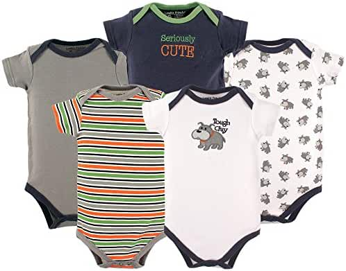 Luvable Friends Baby Infant 5 Pack Bodysuits