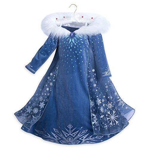Disney Queen Elsa Deluxe Costume - Olaf's Frozen Adventure - Kids -
