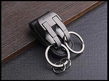 Amazon.com: Milesi – Llavero con clip para el cinturón de la ...
