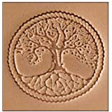 Tandy Leather Craftool 3-D Stamp Tree of Life 8686-00