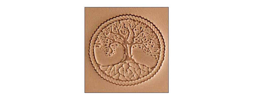 Tandy Leather Craftool� 3-D Stamp Tree of Life 8686-00