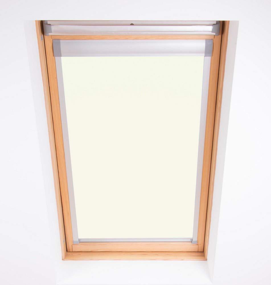 Bloc Skylight Rollo S6 A für Dakstra Dachfenster Blockout, weiß