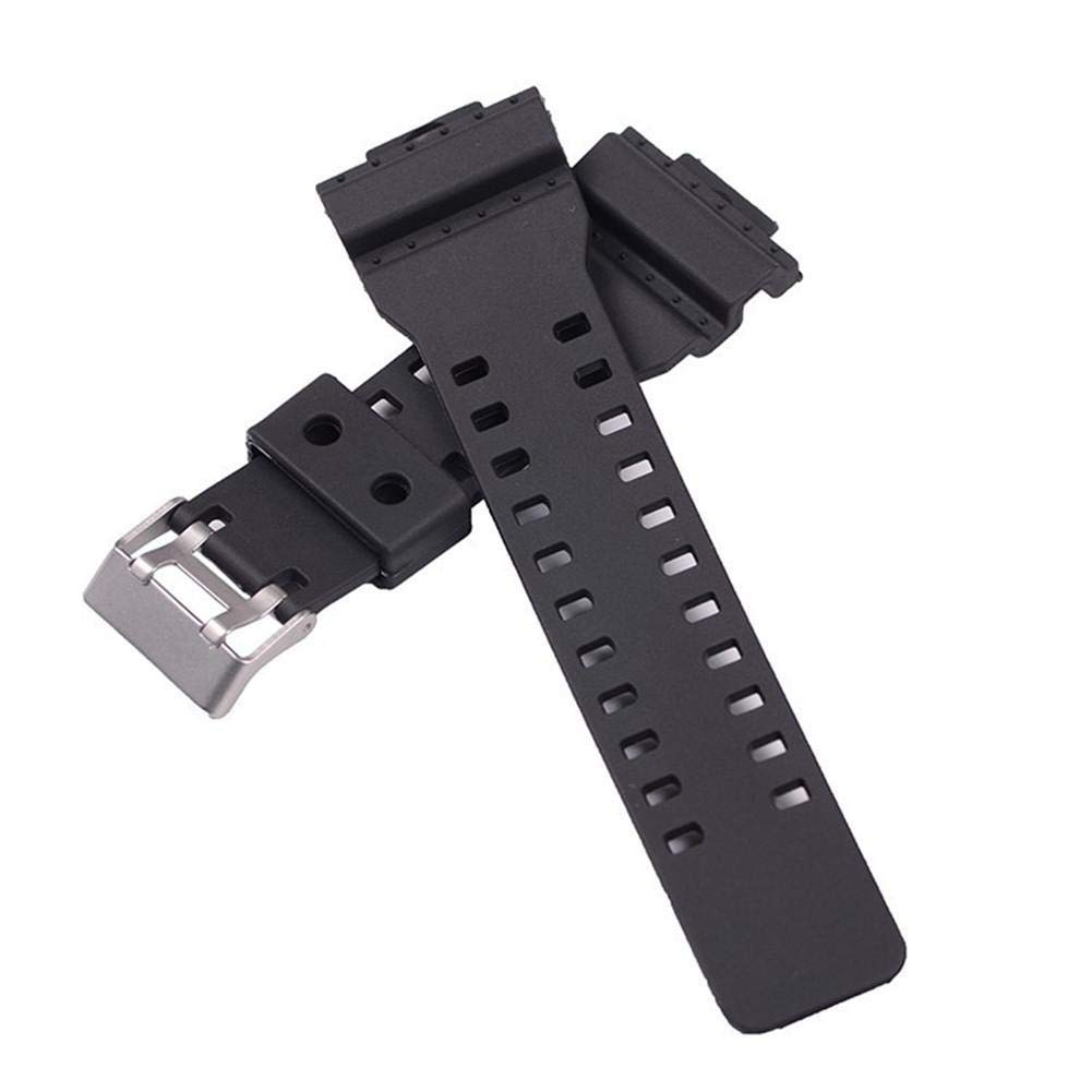 DLMZY Electronic Sports Products Watch with G - Vibration Resin Rubber Strap GD120GA-100GA-110GA-100C Strap Strap G Strap by DLMZY (Image #4)
