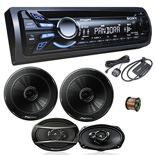 Sony CDXGT570UP CD/MP3 Car Stereo Receiver W/Pioneer TSG1...