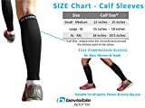 Calf-Compression-Sleeve-BeVisible-Sports-Shin-Splint-Leg-Compression-Socks-for-Men-Women-Great-For-Running-Cycling-Air-Travel-Support-Circulation-Recovery-1-Pair