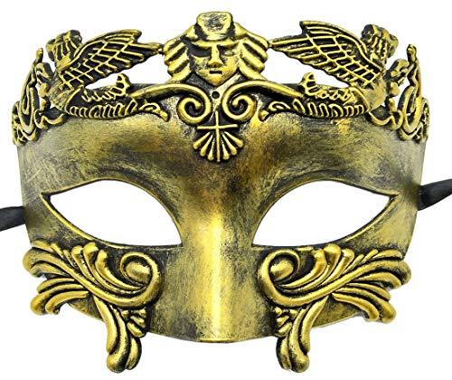 Flywife Mens Masquerade Mask Roman Greek Party Mask