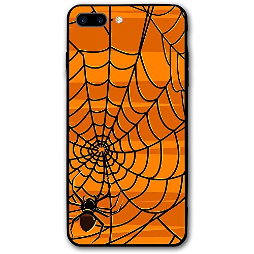 IPhone8 Plus Phone Case Halloween Spider Web(5.5 Inch) 3D Print Anti-Scratch Anti-Finger Slim Hard Cover Case