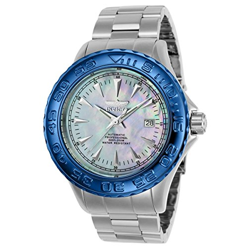 Invicta Pro Diver Automatic Mother of Pearl Dial Mens Watch 23137