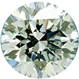 RINGJEWEL 5.54 ct 11.57 MM VS1 Round Cut Loose Moissanite Use 4 Pendant/Ring Off White Ice Blue Color Stone
