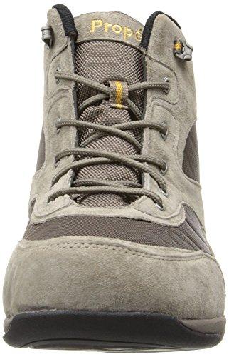 Propet Hombres Mack Walking Shoe Gunsmoke / Gold