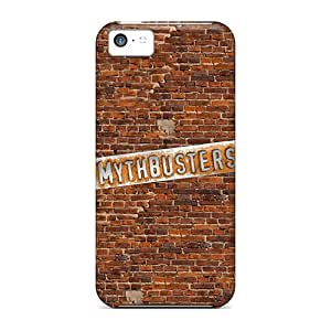 Lucklystar WqS4307UbUf Protective Case For Iphone 5c(mythbusters)