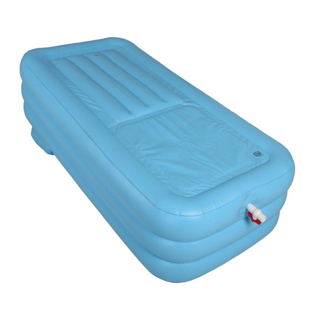 WYP Folding Bathtub, Portable Bathtub/Plastic Bathtub/spa Bath/Jacuzzi (Color : Pink)