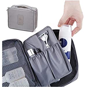 Styleys Travel Organizer Toiletry Bag For Men/Women Travel (Grey)