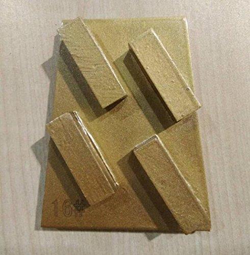 12 pieces 16# Frankfurt Abrasive Diamond Grinding Plate Diamond Grinding Shoes