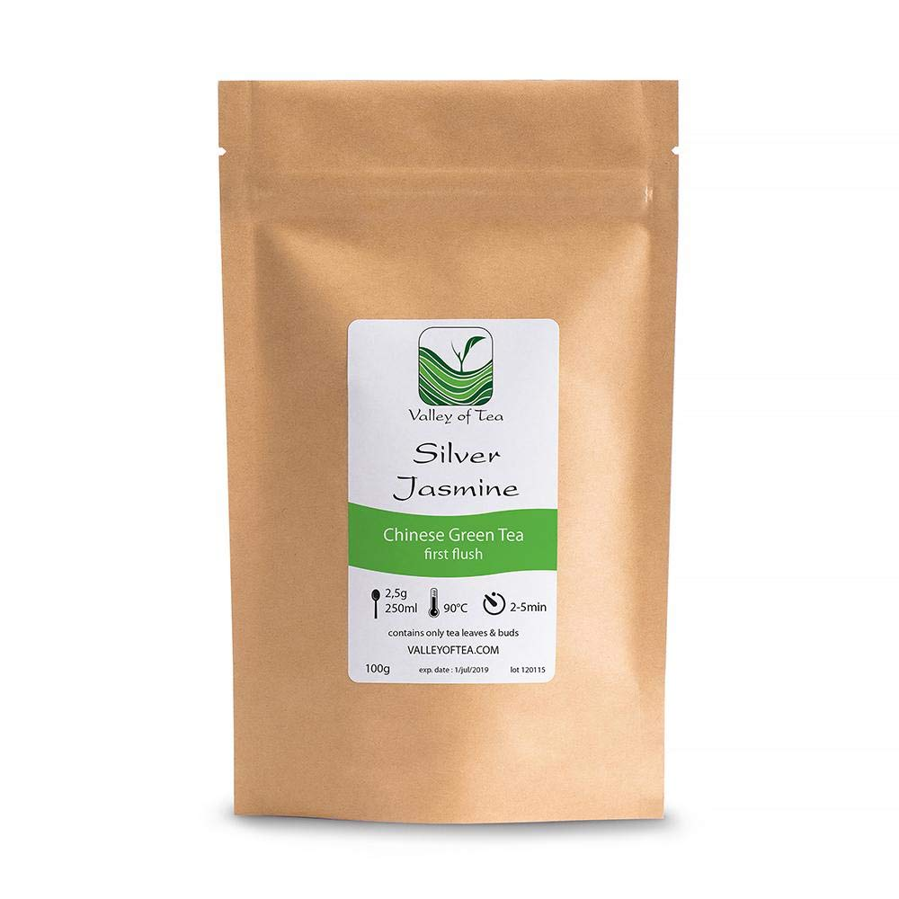 Traditional Chinese Tea From Fujian Yin Hao Silver Tip Loose Leaf Tea 100g Jasmine Green Tea From China