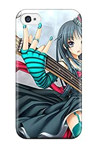 Premium Protection Anime Girl 117 Case Cover For Iphone 4/4s- Retail Packaging