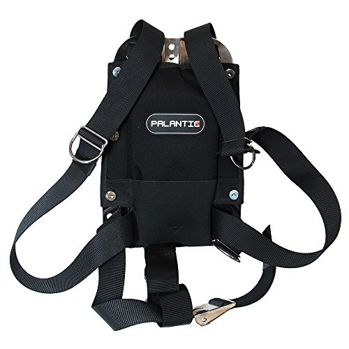 Aqua Edge Palantic Techical Diving Stainless Steel Backpl...