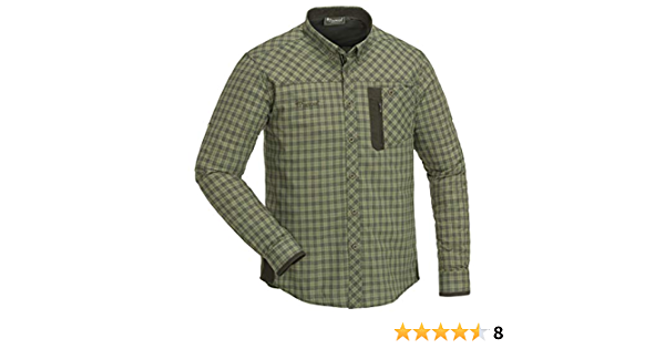 Pinewood 5329 Wolf - Camisa para hombre, color verde oliva (713)