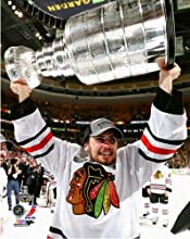 NHL Marcus Kruger Chicago Blackhawks 2013 Stanley Cup Trophy Photo 8x10