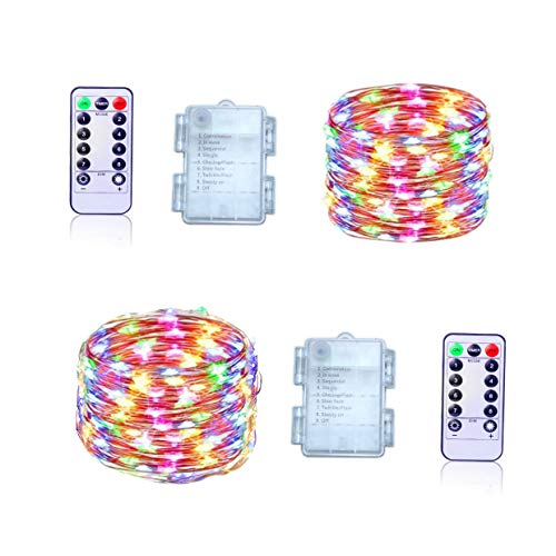360 Multi Coloured Led Christmas Lights in US - 7