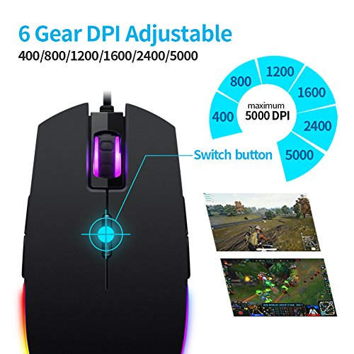 51Ua L0 CfL - RGB-Gaming-Mouse-Wired-LED-MiceHcman-Breathing-Backlit-Optical-USB-Mouse-with-5000-DPI-Programmable-8-ButtonsPC-Computer-Laptop-Mouse-for-PC-Mac-Gamers-Black