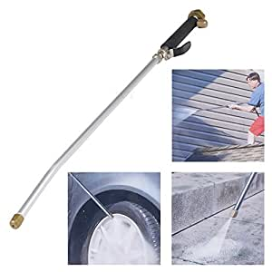 EGT High Pressure Power Washer Spray Nozzle Water Hose Wand Attachment Patio Car