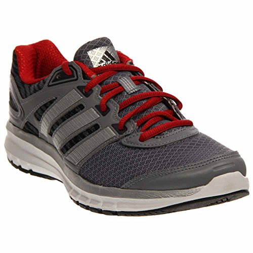 New Adidas Men's Duramo 6 Running Shoes Grey/Scarlet 9.5