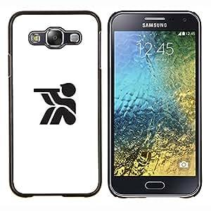 YiPhone /// Prima de resorte delgada de la cubierta del caso de Shell Armor - buscando con su telescopio - Samsung Galaxy E5 E500