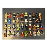 Lego Lot Of 10 Minifigures Random Lot Star Wars, Ninjago & More L@@