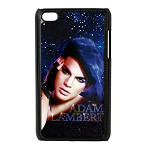 Custom Adam Lambert Back Cover Case for ipod Touch 4JNIPOD4-224