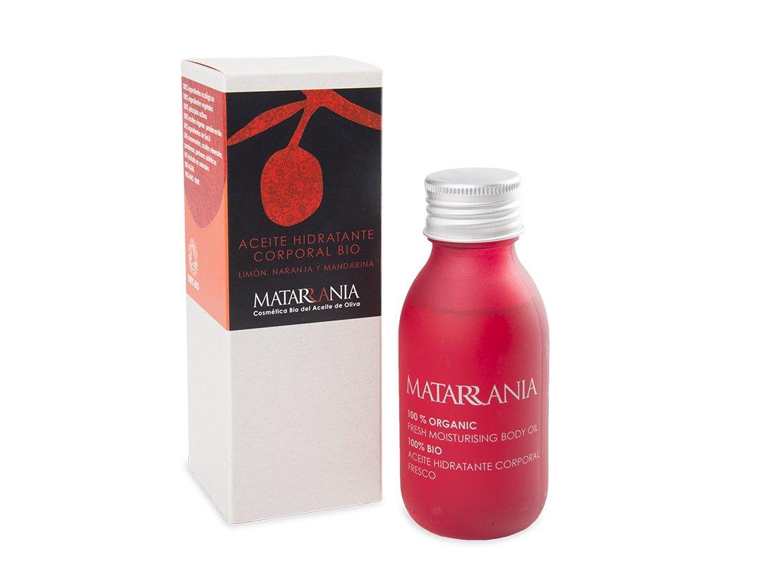 Matarrania- Aceite hidratante corporal fresco Bio 100ml.