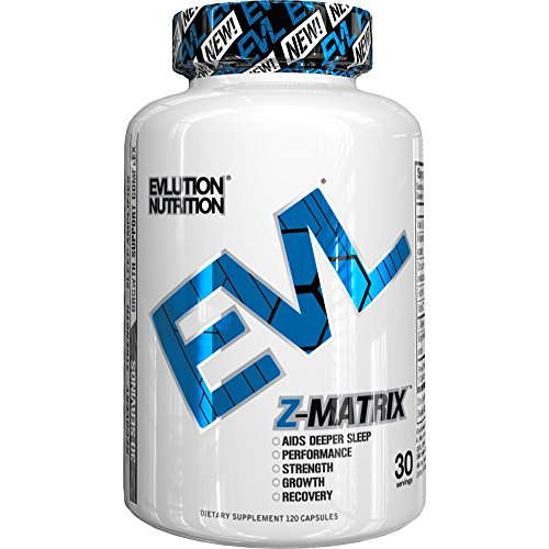 Evlution Nutrition Z Matrix Nighttime Recovery and Sleep Support (30 serving, Capsules)