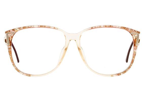5f3d8c8087e Christian Dior Definitive Retro Clear Lens Tortoiseshell acetate frame  glasses Women Gold-One Size  Amazon.co.uk  Clothing