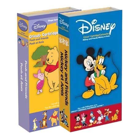 Cricut Disney Cartridge Bundle Mickey and Friends, Pooh and Friends by Provo Craft