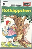 Rotkappchen - Little Red Riding Hood, Das tapfere Schneiderlein - The Brave Little Tailor (Audio Cassette in German)