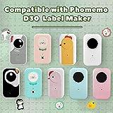 D30 Clear Thermal Label- Label Maker Paper