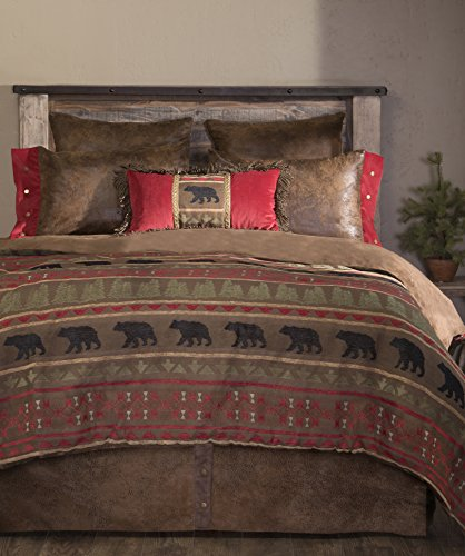 Carstens, Inc King Bear Country 5 Piece Comforter Bedding Set,