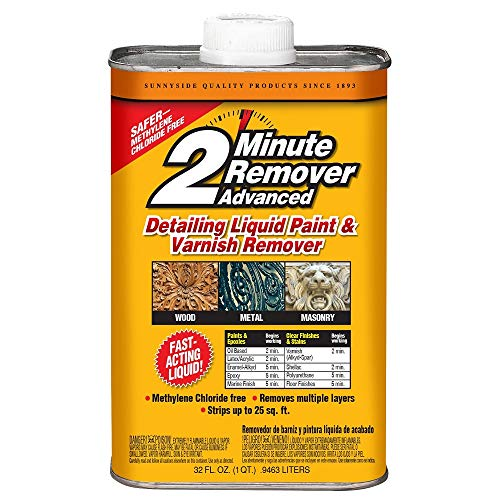 Sunnyside 2-Minute Paint & Varnish Remover ADVANCED Liquid, Quart, 63532