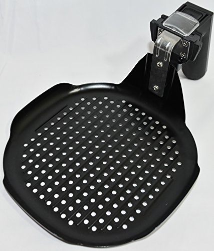 Air Fryer Accessories Set, Grill pan, Grill Rack with Skewers + Free Versatile Mini-Pan. Fits most 3.5 QT or larger Air Fryers including Louise Sturhling, GoWiSe, Della, Simple Chef, Avalon Bay, etc.